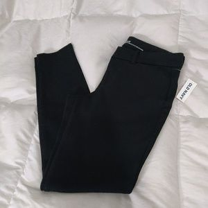 NWT Old Navy Black Pixie Pants